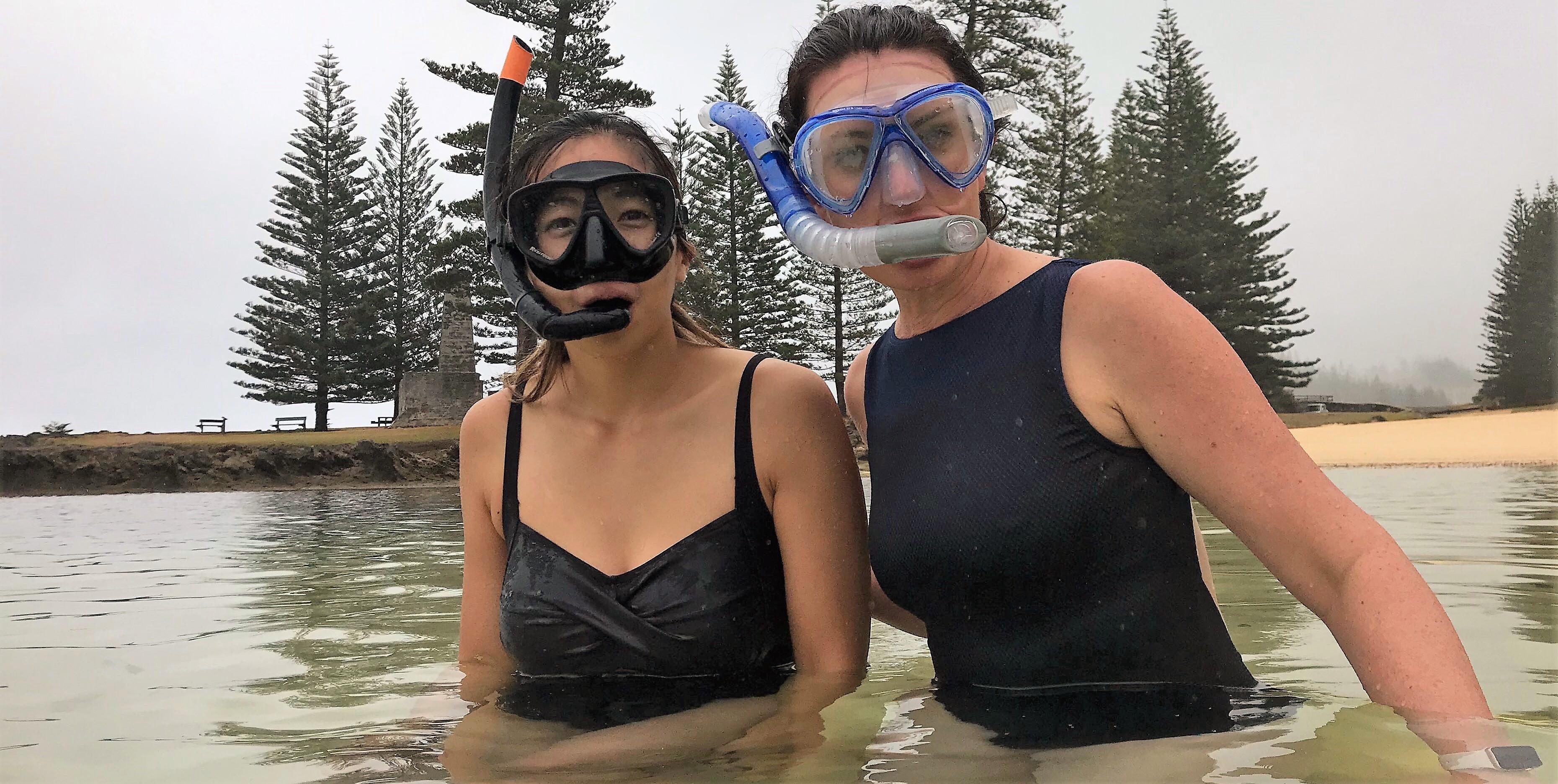 ThinkPlace designers Cybelle Ledez and Wai Ko on Norfolk Island