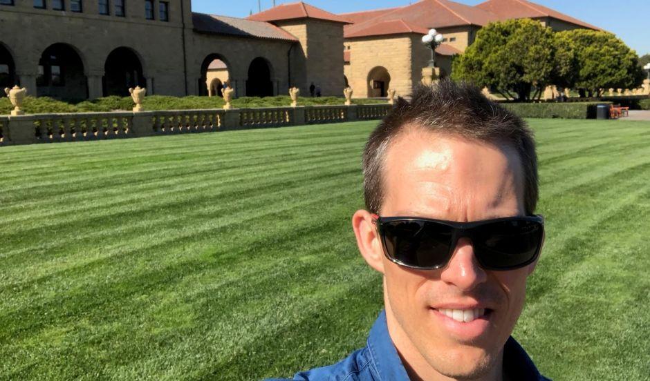 David Ireland at Stanford