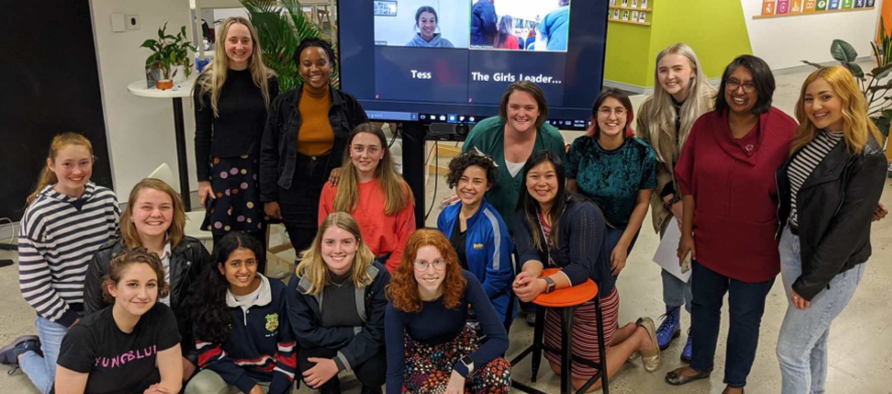 The Girls Leadership Network ThinkPlace workshop