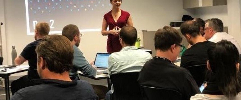 gamification expert Kerstin Oberprieler from PentaQuest