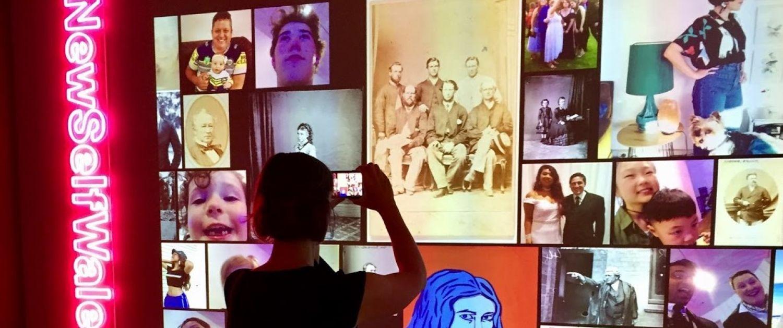 Alli Burness looks at selfies