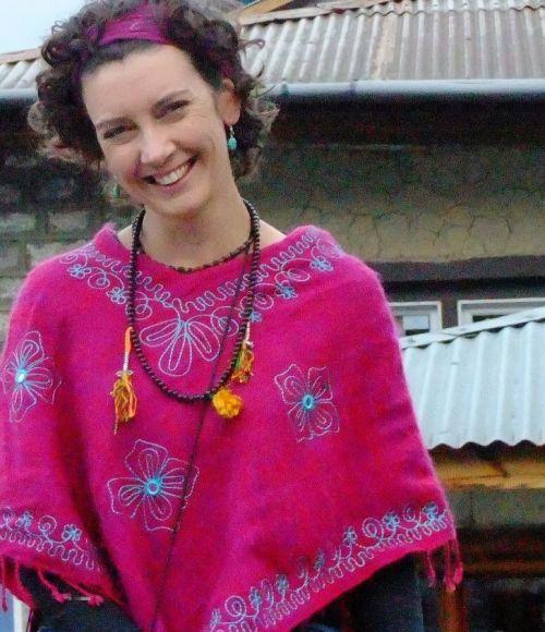 ThinkPlace designer Cybelle Ledez in Kathmandu
