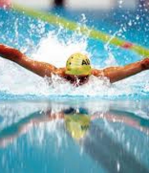 An Australian swimmer